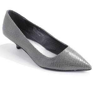 Prada. Genuine Leather Lace Grenadine Kitten Heel Cut Out Pointed