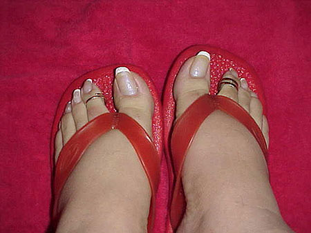 Pointed Toe Nails