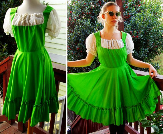 Beauty Tips For Ministers Shamrock Vintage 1960s Bright
