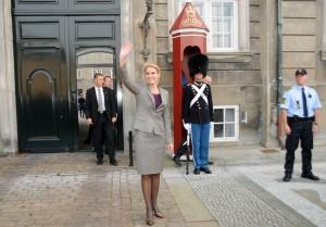 ! Helle Thorning hos Dronningen 2 10 2011 Kan danne DK Regering Foto Hasse Ferrold 5